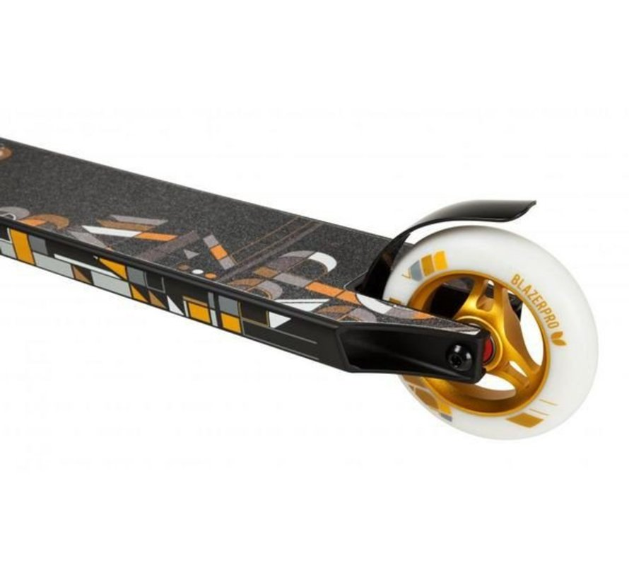 Stuntstep Blazer Pro Mosaic Series Zwart-Goud