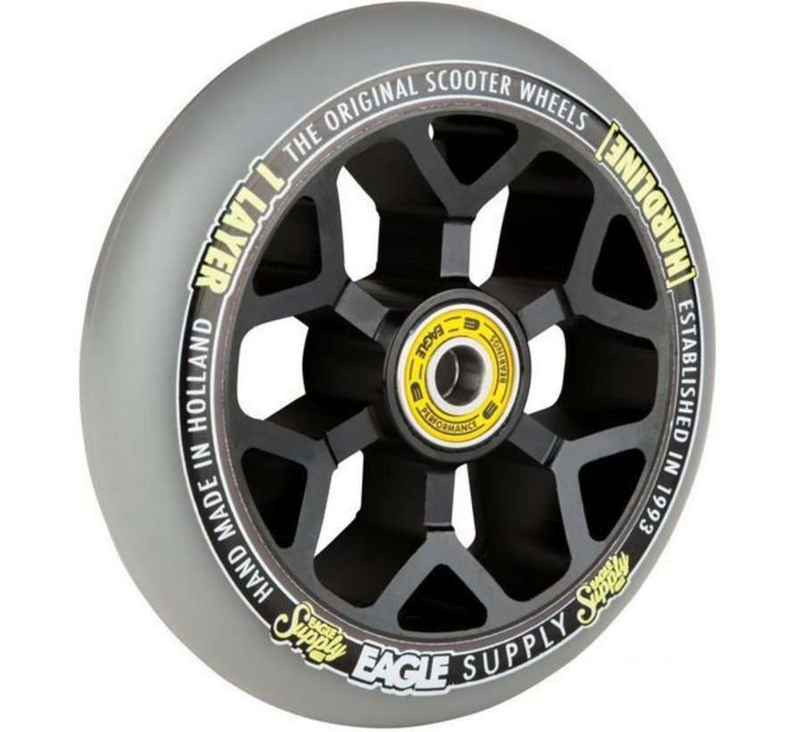 Eagle Supply 6M Panthers Stuntstep Wiel Silver