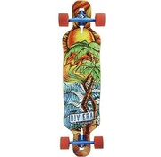 Riviera Longboards Riviera Twisted Palms 40'' Dropthrough Longboard