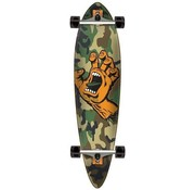 Santa Cruz Santa Cruz Screaming Hand Camo 39'' Pintail Longboard