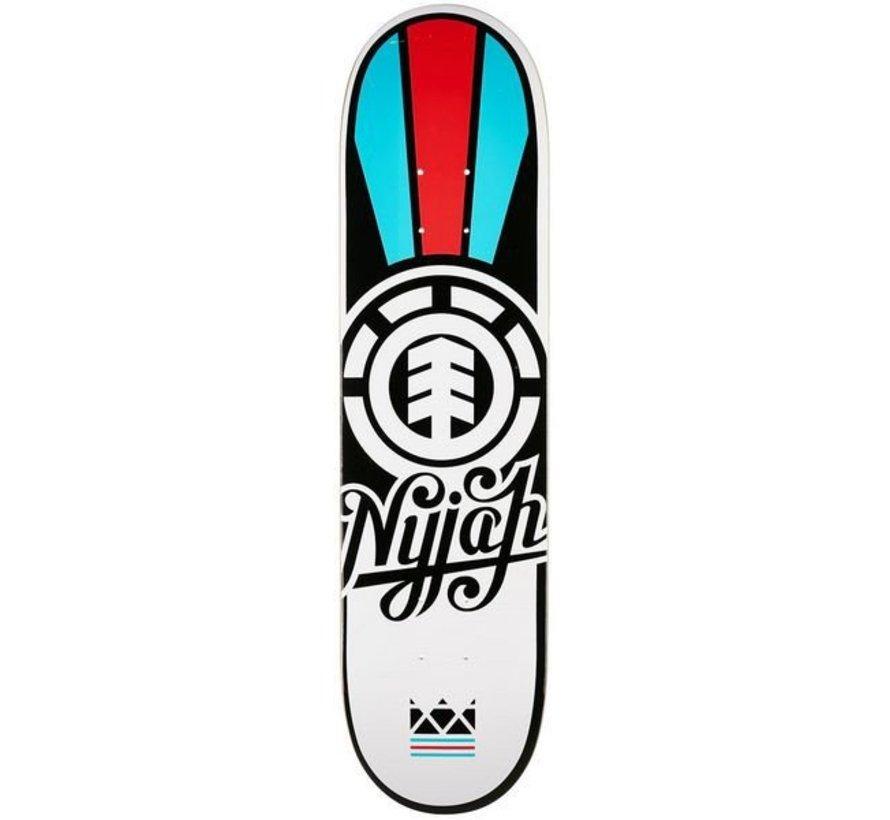 Element Nyjah Script Twig 7.625 Skateboard