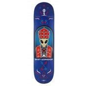 Alien Workshop Alien Workshop Priest Blue 8'' Deck