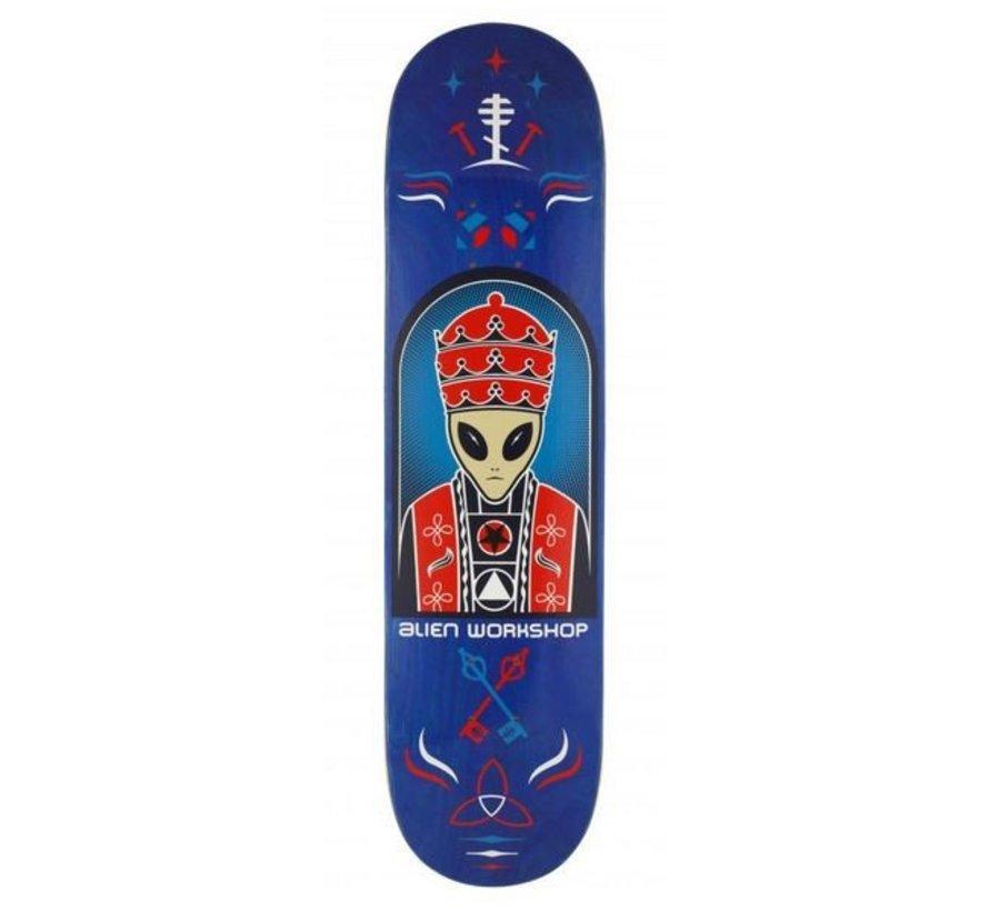 Alien Workshop Priest Blue 8'' Deck