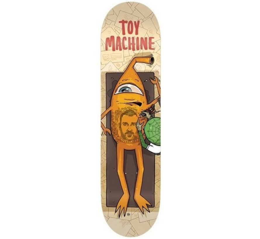 Toy Machine Templeton Overlord 8.375'' Deck