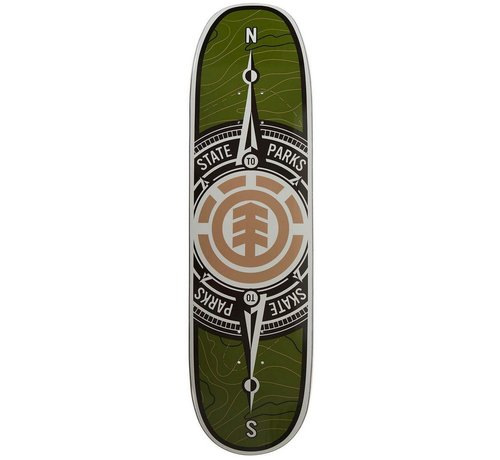 Element Element Topo Compass 8.75'' Deck
