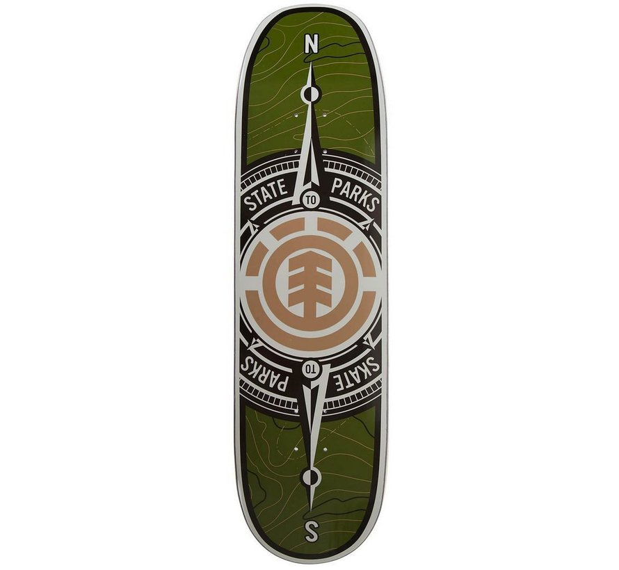 Element Topo Compass 8.75'' Deck