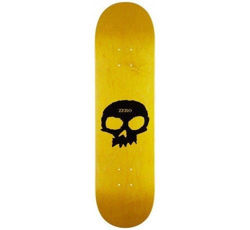 Zero Skateboards Zero Single Skull 8.25'' Deck Yellow