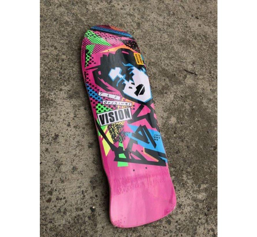 Vision Mark Gonzalez 10.0 Cruiser Deck Pink