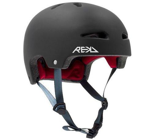 REKD Protection Rekd Ultralite In-Mold Skatehelm Zwart