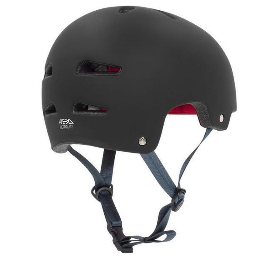 Rekd Ultralite In-Mold Skatehelm Zwart