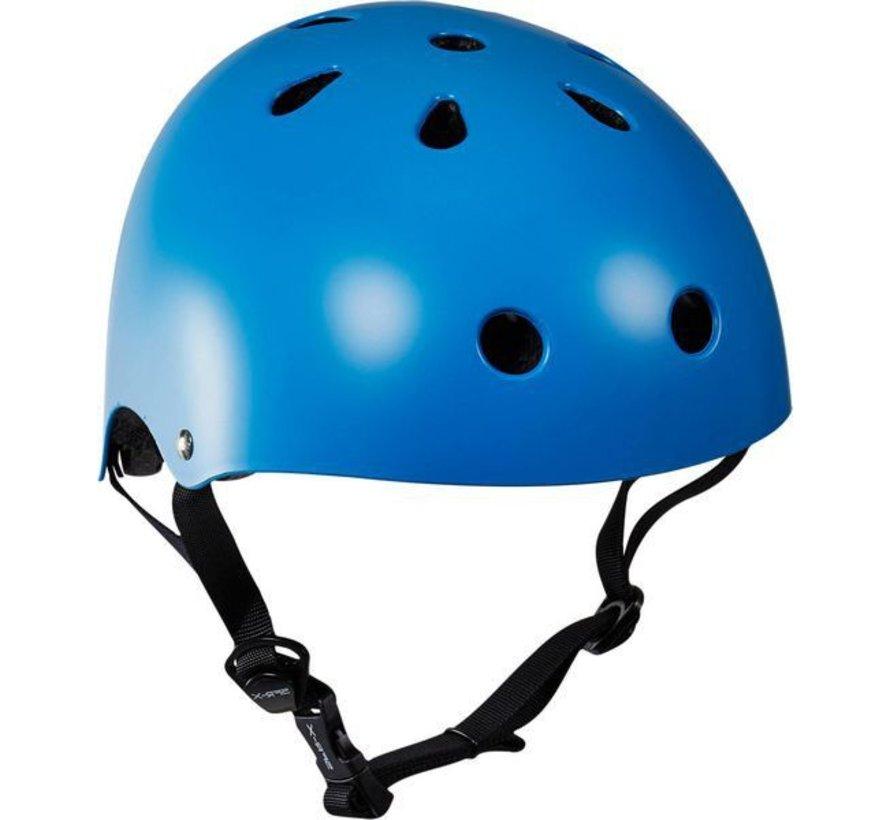 Skatehelm blauw Essentials