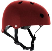 SFR Skates Skatehelm Essentials  Rood Metal