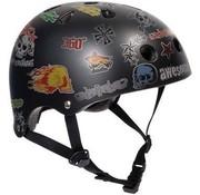 SFR Skates Sticker skatehelm Essentials zwart
