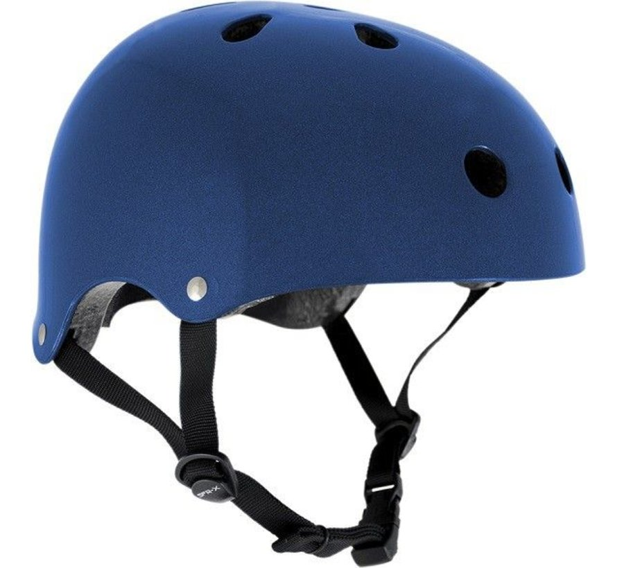 Skatehelm SFR Essentials Metal Blauw