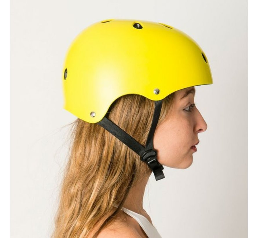Skatehelm SFR Essentials Geel