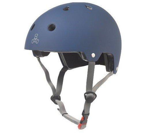 Triple Eight Triple Eight Dual Certified Helm Mat Navy