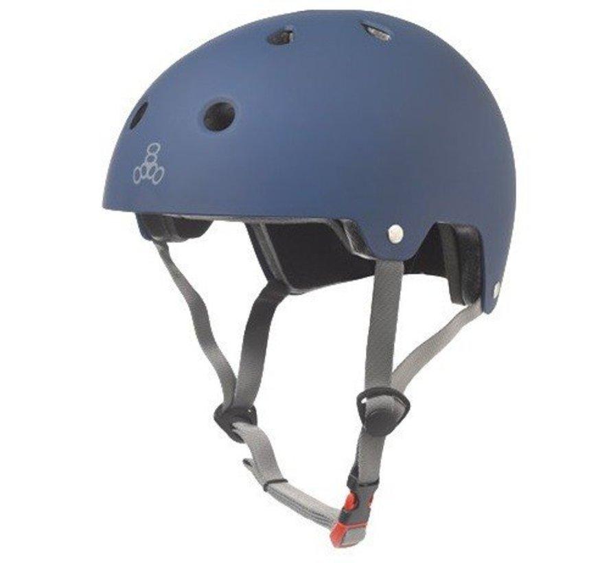 Triple Eight Dual Certified Helm Mat Navy