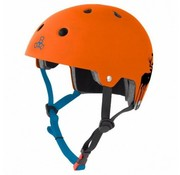 Triple Eight Triple Eight Dual Certified Helm Switzer Oranje