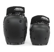 REKD Protection REKD YOUTH Heavy Duty Double Pad Set Zwart-Grijs