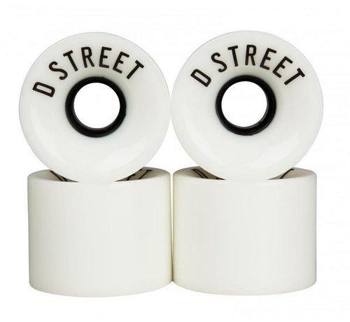 D-Street D-Street Cruiser Wielen 59mm Wit