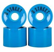 D-Street D-Street Cruiser Wielen 59mm Blauw