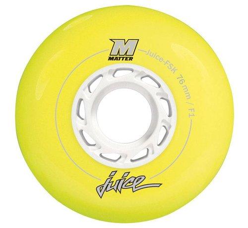 Powerslide Matter Juice 76mm Inline Skate Wielen 4-pack