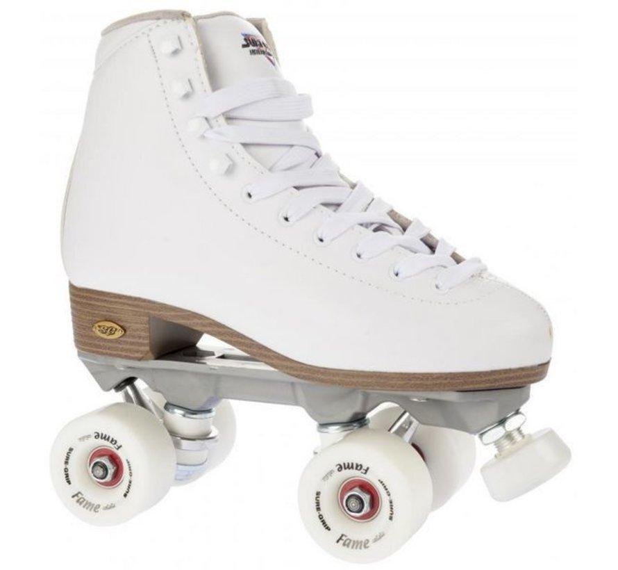 Suregrip Quad Skates Fame Package Rolschaatsen Wit