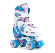 SFR Skates SFR Verstelbare Rolschaatsen Storm III White-Pink