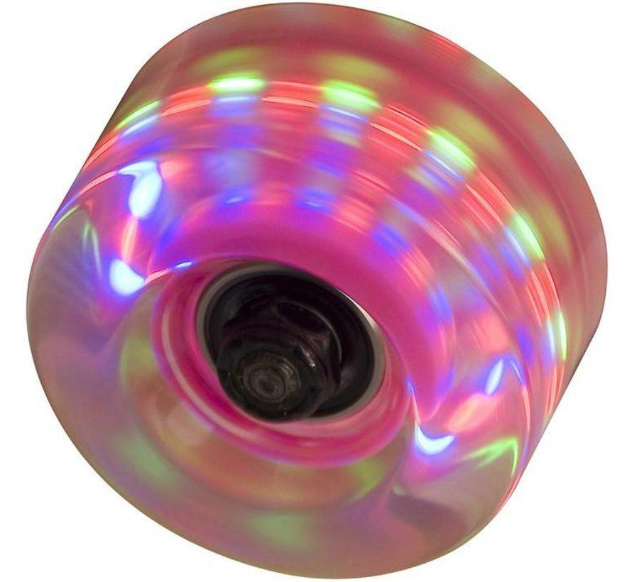 SFR Light Up Wielen Roze 58mm