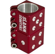 Slamm Scooters Slamm Scooters Dice Clamp rood