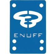 Enuff Skateboards Enuff shockpads 1mm blauw