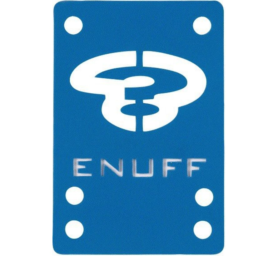 Enuff shockpads 1mm blauw