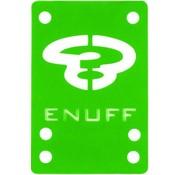 Enuff Skateboards Enuff shockpads 1mm groen