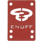 Enuff Skateboards Enuff shockpads 1mm rood