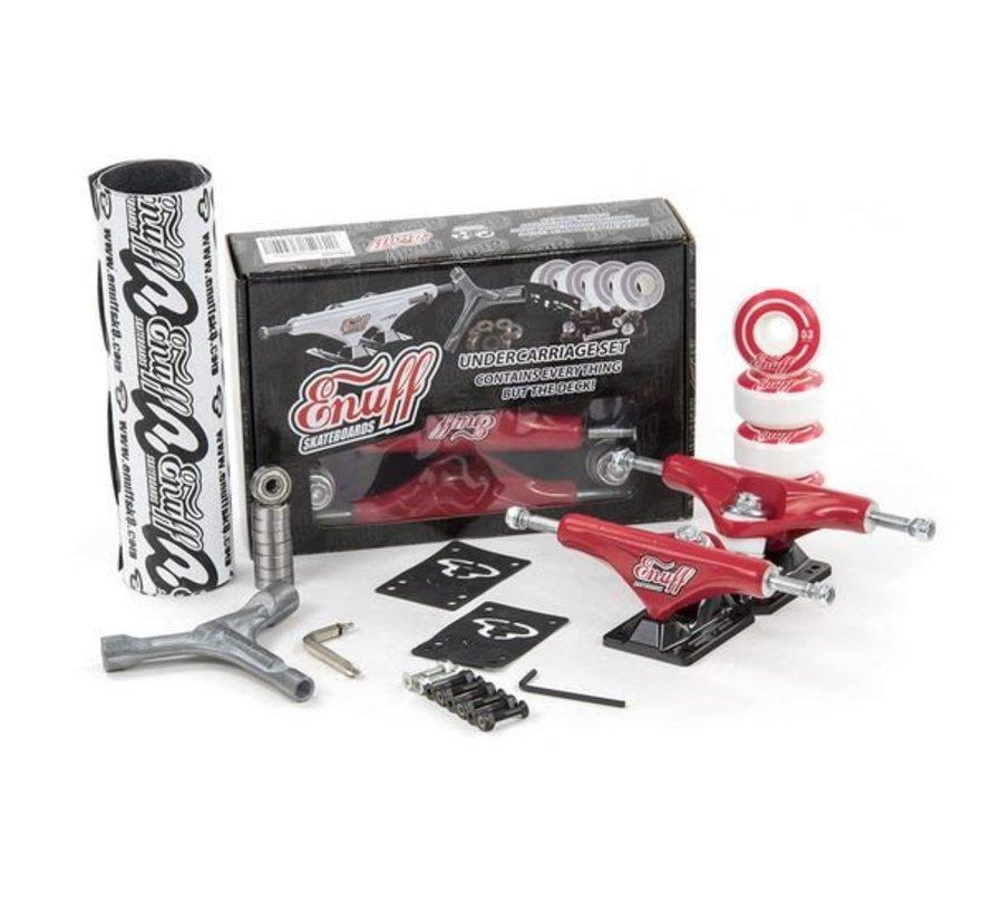 Enuff Decade Pro Truck Set Rood-Zwart
