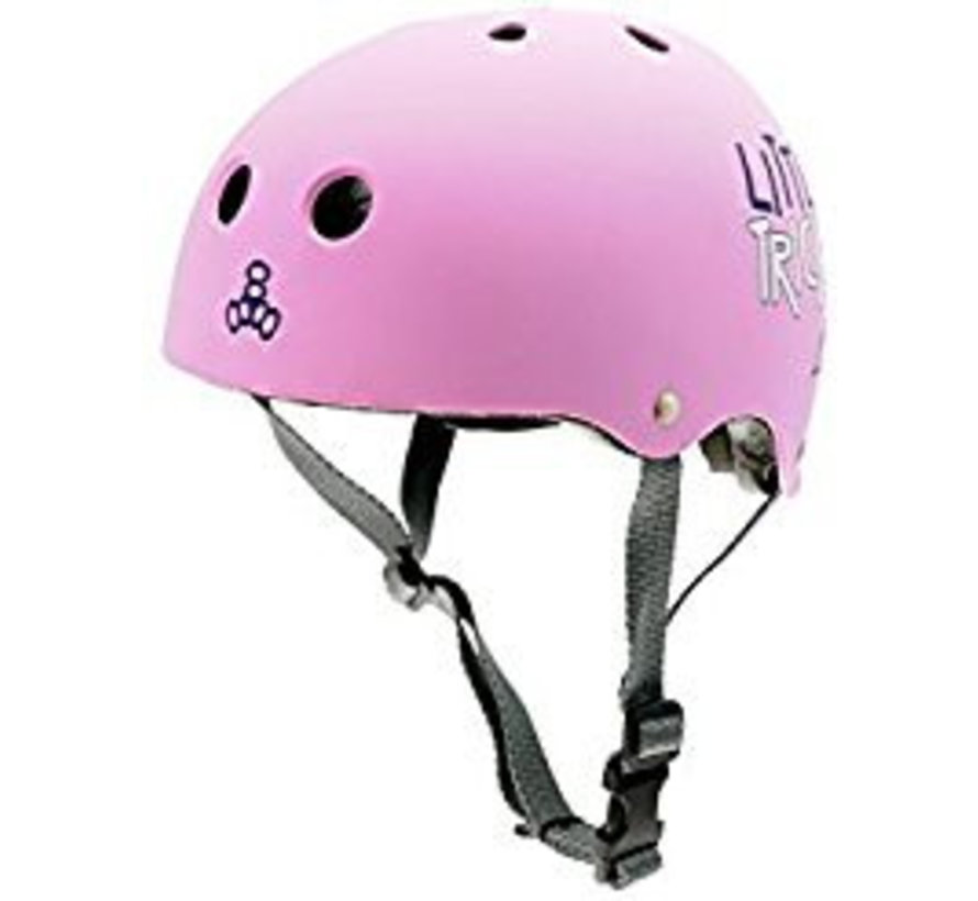 Triple Eight Lil Tricky Skatehelm Roze (49-52cm)