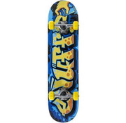 Enuff Skateboards Enuff Graffiti 7.25 Mini Skateboard Blauw-Geel