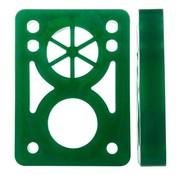"""D-Street Riser pads D-Street Clear Groen 1/2"""""""