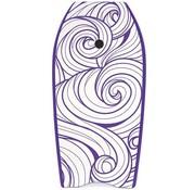 Yello Yello Slick Swirls 41'' Bodyboard Paars
