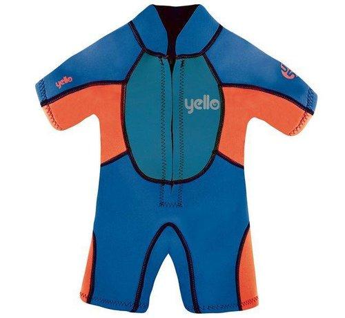 Yello Yello Puffer Shorty Wetsuit Kids 4J