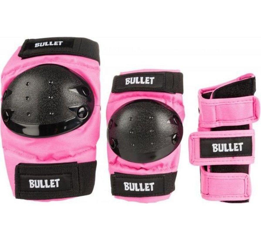 Bullet Beschermset Junior Large (9-12j) Roze