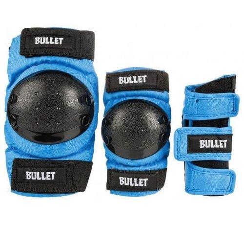 Bullet Safety Gear Bullet Beschermset Junior Large (9-12j) Blauw
