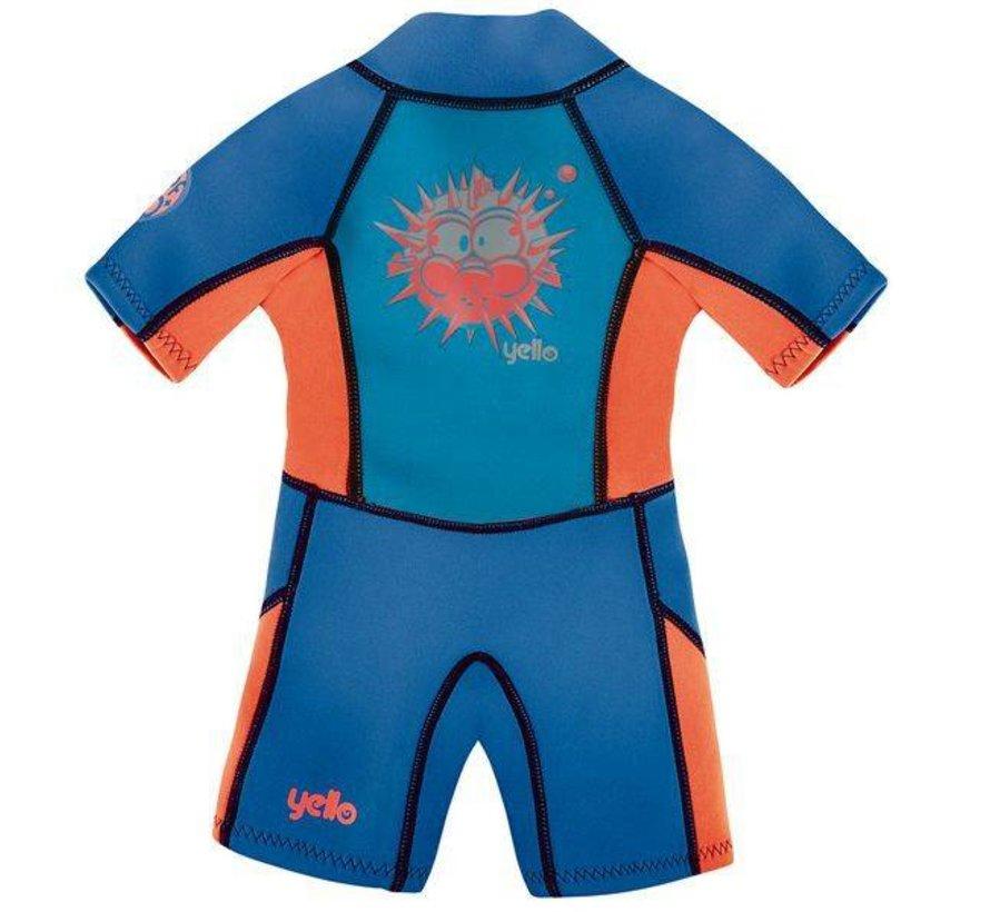 Yello Puffer Shorty Wetsuit Kids 4J