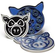 Pig Wheels Pig Wheels Abec-3 Skateboard Lagers
