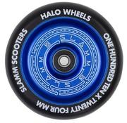 Slamm Scooters Slamm 110mm Halo Deep Dish Stuntstep Wiel Blauw