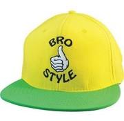 Bro Style Bro Style Neon Cap Yellow