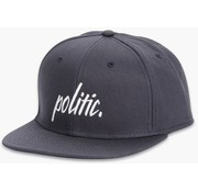 Toy Machine Politic Script Snapback Black