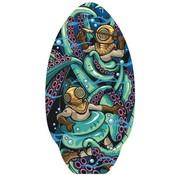 Yello Yello Octopus 30'' Skimboard