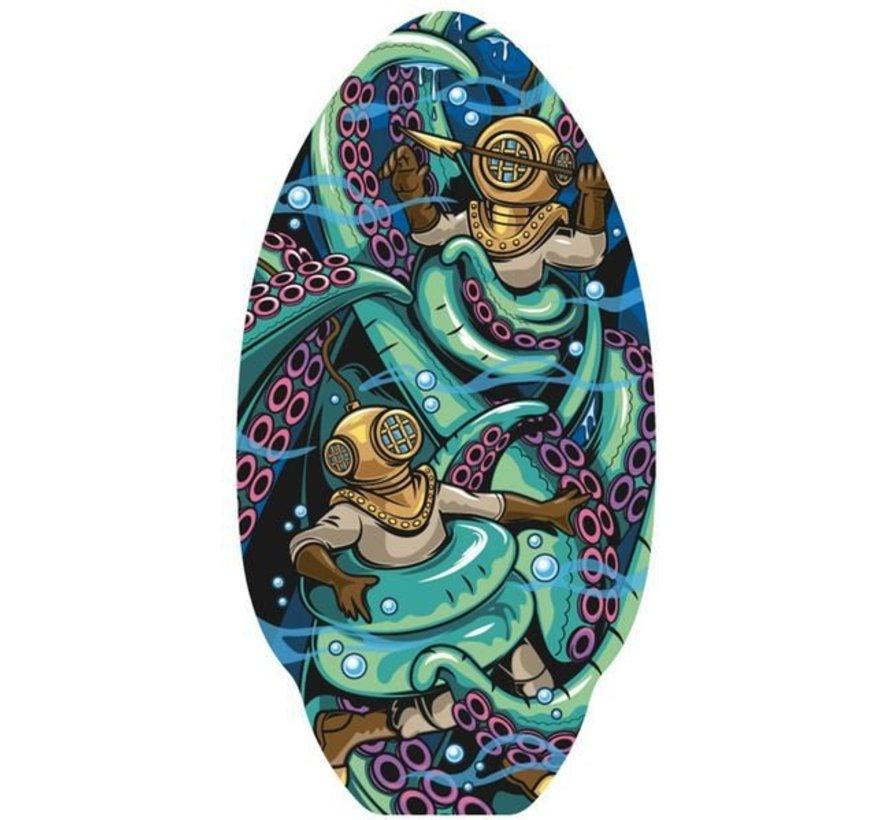 Yello Octopus 30'' Skimboard