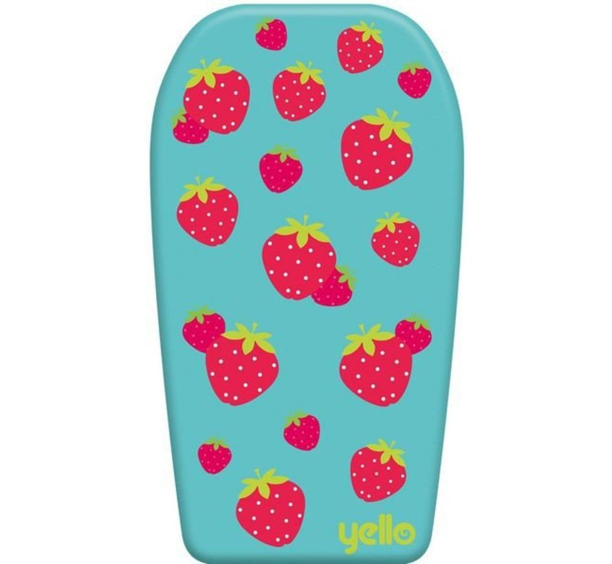 Yello Strawberry 33'' Bodyboard